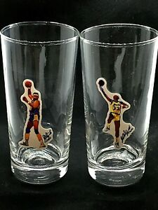 Los Angeles Lakers Kareem Abdul-Jabbar/Wilt Chamberlain glasses-14 oz-SHOWTIME