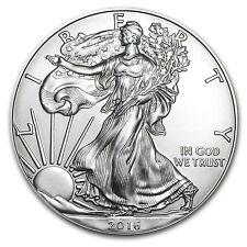 2016 1 oz Silver American Eagle BU - SKU #93754
