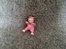 Miniature Handmade OOAK Sculpt Baby Girl Doll House Artisan 1/12 scale