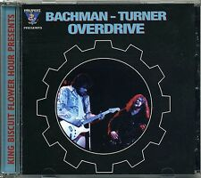 BACHMAN TURNER OVERDRIVE - KING BISCUIT RARE 1998 CD - LIVE - CHICAGO MARCH 1974