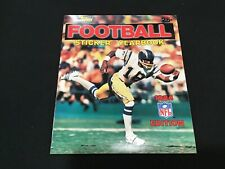 1984 Edition Topps Football Sticker Yearbook - Kellen Winslow Cover - Unused