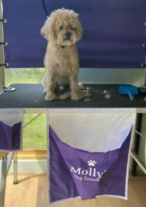 The original Fur bin for your Dog Grooming Groomers table personalised