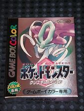 NEW Nintendo Pocket Monster Pokemon Crystal version Game Boy Color GBC JAPAN F/S