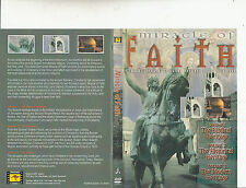 Miracle of Faith-Two Millenia of Christian Heritage-Religion Christian-3 Hr-DVD