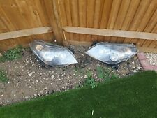 Vauxhall Astra H headlights pair.