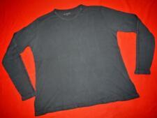 All Saints vintage look BLACK long sleeve t-shirt tee Size XL