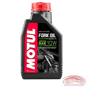 Motorrad Gabelöl Motul Fork Oil 10W Expert Medium Dämpfungsöl 1Liter SAE Öl