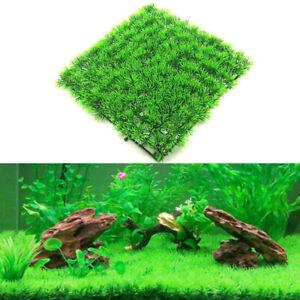 Aquarium Plastic Fish Tank Decor Water Green Grass Carpet Plant SAFE FOR FISH