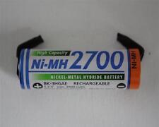 Panasonic/Sanyo AA 2700mAh Mignon Einzelzelle mit U-Lötfahne