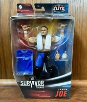 Samoa Joe WWE Mattel Elite Survivor Series Action Figure NIB New 2020 NXT