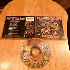 Iron Maiden - Best Of The Beast CD 1st US BMG press bruce dickinson metallica