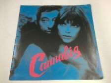 Cannabis Serge Gainsbourg Jane Birkin Japanese Promotional Booklet 1990s
