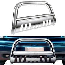 Bull Bar Push Bumper Stainless Chrome For 1999 2007 Chevy Silveradosierra 1500