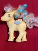 My Little Pony G1 Vintage Rainbow Curl Ringlet Pegasus Yellow MLP