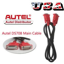 New Genuine Main Cable Test Date Wire For Autel MaxiDAS DS708 Code Scanner US