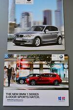 SALES BROCHURE BMW 1 Series 2011 & listino prezzi, 118d 120d 116 118