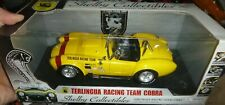 Shelby Collectibles Terlingua Racing Team Cobra 427 Yellow Diecast 1/18