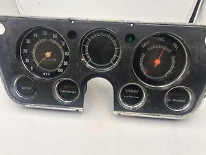 Chevrolet C10 Speedometer Instrument Cluster Blazer Chevy C20 67-72 GMC 02,108k