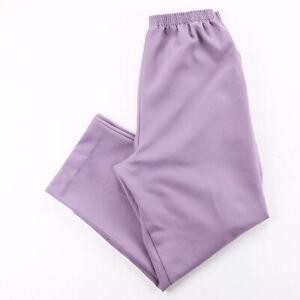 Vintage BLAIR Purple Regular Mom Plain Trousers Womens W30 L29