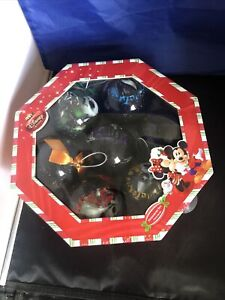 Disney Store The Nightmare Before Christmas Ornament Set New