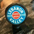A) VINTAGE LEBANON VALLEY BEER - BREWING CO BALL TAP KNOB / HANDLE LEBANON PA