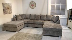 EXPRESS DELIVERY! BRAND NEW U SHAPPED CORNER SOFA ON SPECIAL OFFER