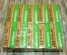 Fujicolor HR100/120 Rollfilm im 10er Pack - Datum: 12/89 aus Kühlschranklagerung