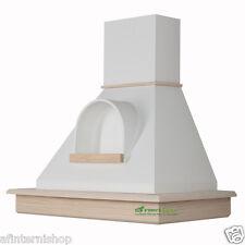 Cappa STOCK cucina legno rustica 90 frassino grezzo,camino nicchia CL90-FGBnB52