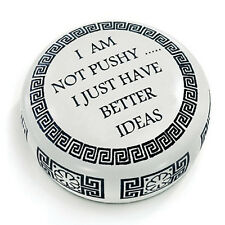 DESK ACCESSORIES - BETTER IDEAS PAPERWEIGHT - EXECUTIVE GIFTS