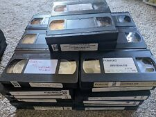 Lot of 40 VHS Tapes Sold as Blank