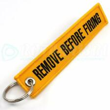 REMOVE BEFORE FIRING KEYCHAIN COLOR = YELLOW/BLACK QTY 1 - GLOCK HK