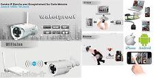 Caméra réseau IP Extérieur vidéo surveillance Extérieur Enregistrement 60 jours*