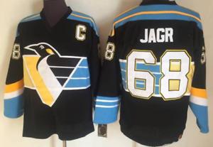 Penguins Black Jaromir Jagr Jersey M, L, XL, 2XL, 3XL