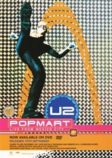 U2 - Pop Mart Live From Mexico - Full Size Magazine Advert
