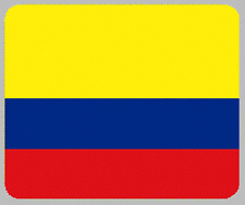 "Blanket Fleece Throw National Flag Colombia 50""x60"" NEW with protective sleeve"