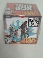 TRIVIA BOX STAR WARS Game Box Unopened Sealed, Cardinal Games, Disney. New