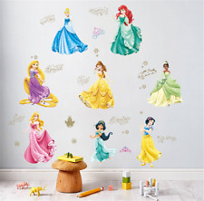 Blancanieves Princesa Pegatinas de pared Hazlo tú mismo Chicas Dormitorio Decoración Arte Vinilo Calcomanía UK