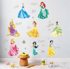 Snow White Princess Wall Stickers DIY Girls Bedroom Decor Art Vinyl Decal UK