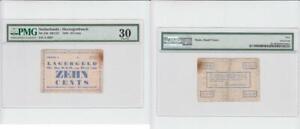 10 Cent 1943 Netherlands / Konzentrationslager Herzogenbusch 10 Cents selten !!!