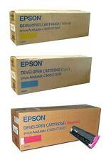 KIT 3 TONER ORIGINALI EPSON ACULASER C900/C1900 (CIANO-MAGENTA-GIALLO)