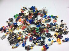 100 Non Lego Minifigures Megablok Heroes minifig lot L476B