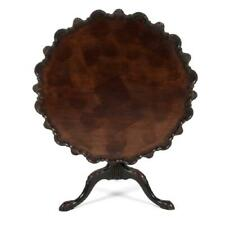 Charming Pie Crust Tilt Top Table, 18th century (1700s)!
