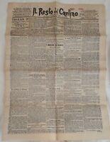 IL RESTO DEL CARLINO 22 GENNAIO 1897 DERVISCI GIANNINA MILLI BOLOGNA VIGANO