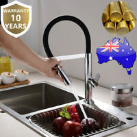 WELS Brass Kitchen Sink 2 Functions Pull Down Swivel Spout Bar Mixer Taps Facuet