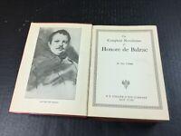 Old Vintage Book 1925 Balzac Complete Novelettes HC Hardback Collier
