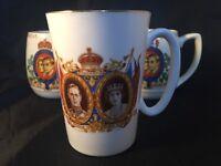 King George Queen Elizabeth Coronation May 1937 Myott Little Hallingbury Essex