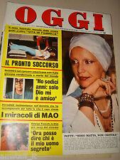 OGGI=1976/39=PATTY PRAVO=GEMONA=ATTILIO VERARDI=ETTORE GUIDO LOMBARDI=CASINI S.