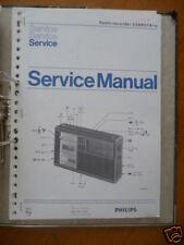 AR de PHILIPS 22 MANUAL DE SERVICIO 574 radio-recorde, original