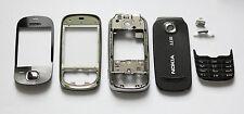 Black Housing Cover Facia Fascia Faceplate case for nokia 7230 with keypad