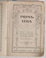 1920 GIUSEPPE LIPPARINI PRIMAVERA LETTURE BAMBINI PLANC